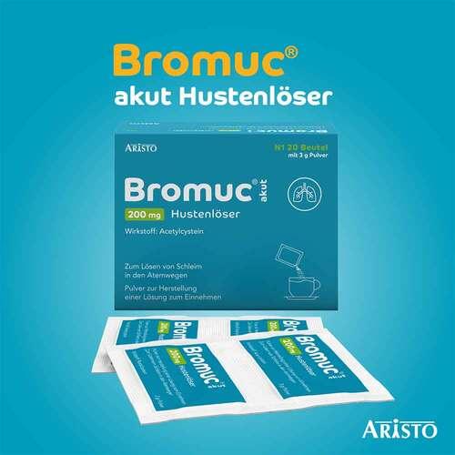 Bromuc akut 200 mg Hustenlöser Pulver zur Herstellung einer Lösung zum Einnehmen  - 2
