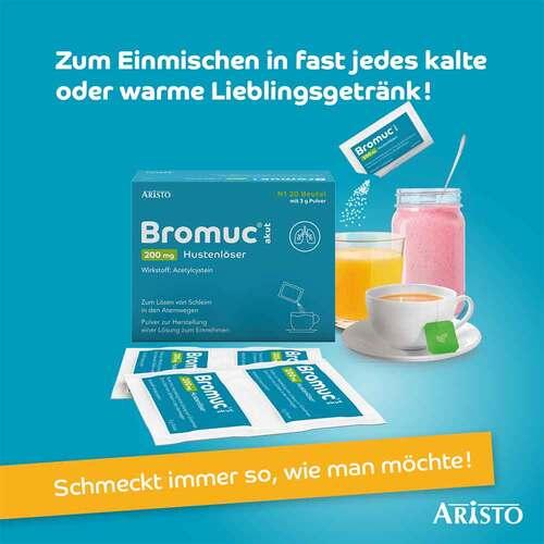 Bromuc akut 200 mg Hustenlöser Pulver zur Herstellung einer Lösung zum Einnehmen  - 3