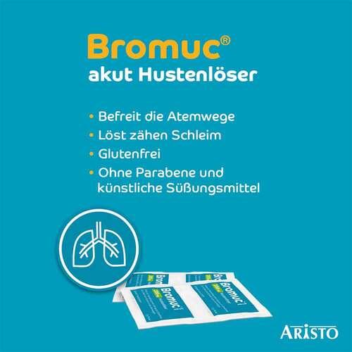 Bromuc akut 200 mg Hustenlöser Pulver zur Herstellung einer Lösung zum Einnehmen  - 4
