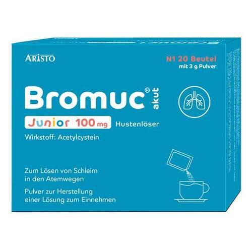 Bromuc akut Junior 100 mg Hustenlöser Pulver zur Herstellung einer Lösung zum Einnehmen  - 1