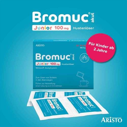 Bromuc akut Junior 100 mg Hustenlöser Pulver zur Herstellung einer Lösung zum Einnehmen  - 2