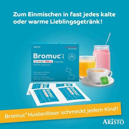 Bromuc akut Junior 100 mg Hustenlöser Pulver zur Herstellung einer Lösung zum Einnehmen  - 4