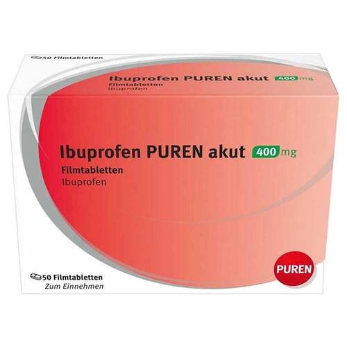 Ibuprofen Puren akut 400 mg Filmtabletten - 1