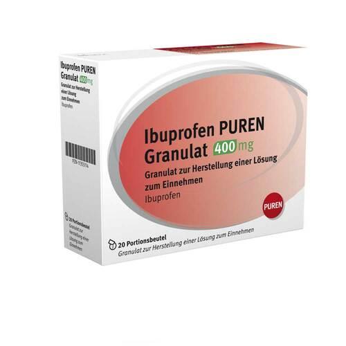 Ibuprofen Puren Granulat 400 mg zur Herstellung einer Lösung zum Einnehmen  - 1