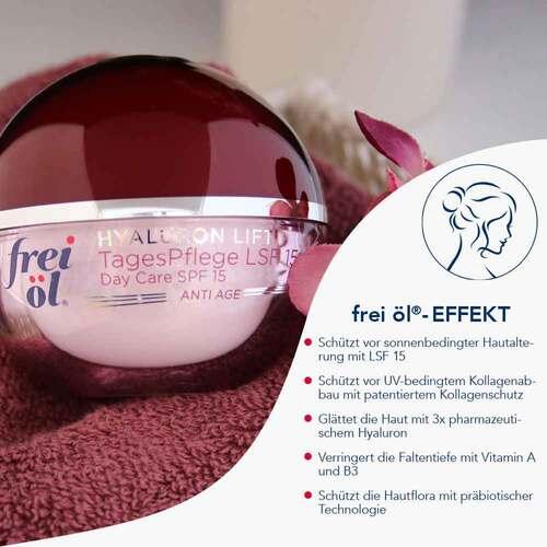 Frei Öl Anti-Age Hyaluron Lift Tagespflege LSF 15 - 2