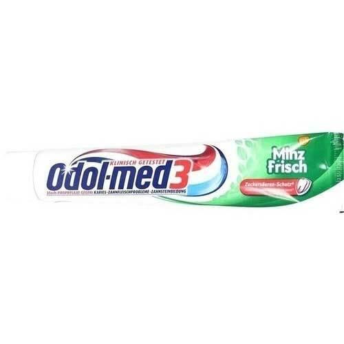 ODOL Med 3 minzfrisch Zahnpasta - 1