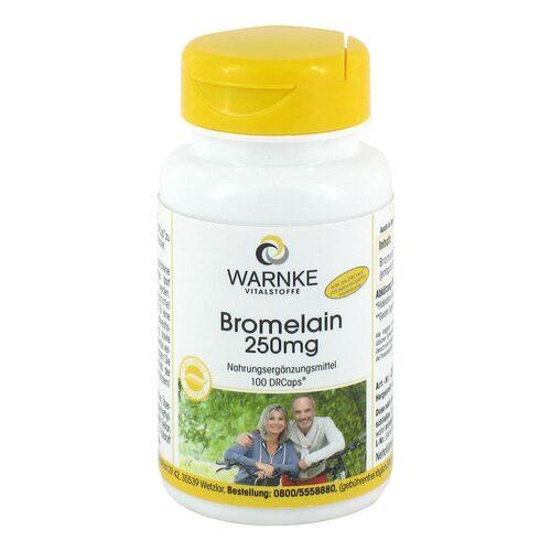 Bromelain 250 mg magensaftresistente Kapseln - 1