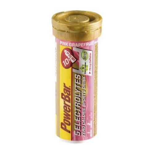 Powerbar 5 Electrolytes Pink Grapefruit + Koffein - 1
