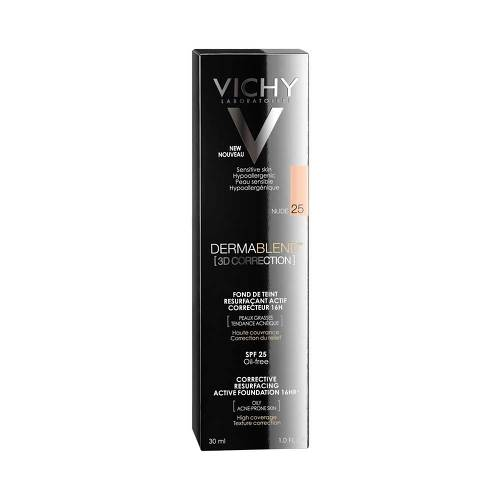Vichy Dermablend 3D Correction Make-Up 25 Nude - 1