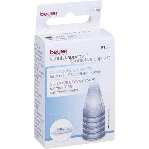 Beurer FT58 Ersatzschutzkappen für Ohrthermometer - 1