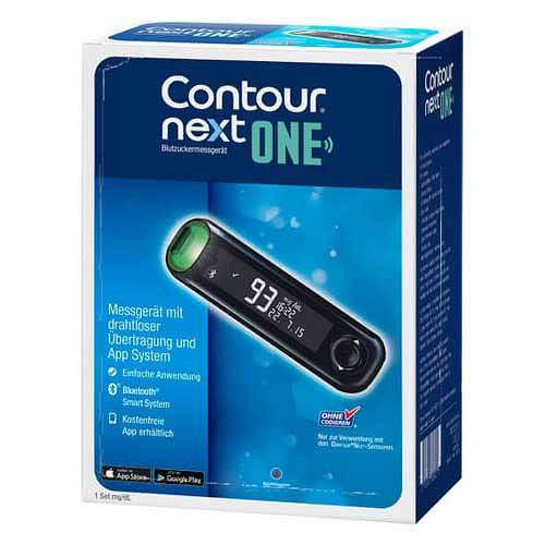 Contour Next One Blutzuckermessgerät Set mg / dl - 1