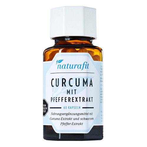 Naturafit Curcuma mit Pfeffer Kapseln - 1