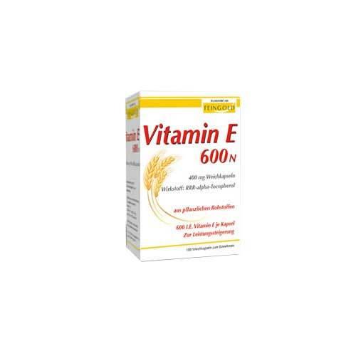 Vitamin E 600 N Weichkapseln - 1
