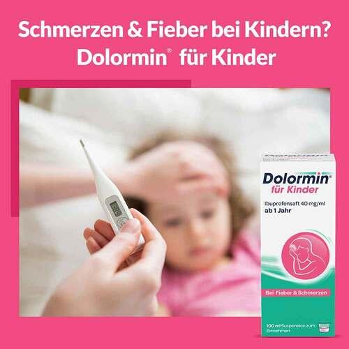 Dolormin für Kinder Ibuprofensaft 40 mg / ml Suspension  - 2