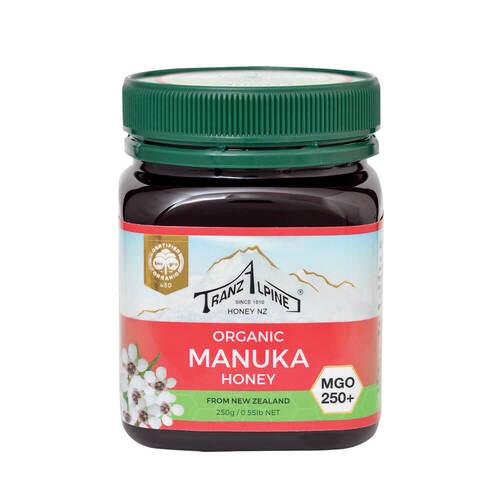 Bio Manuka Honig Mgo 250 + Tranzalpine - 1