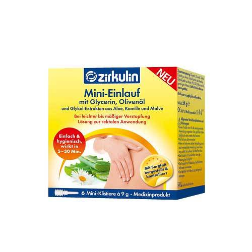 Zirkulin Mini-Einlauf Klistiere - 1