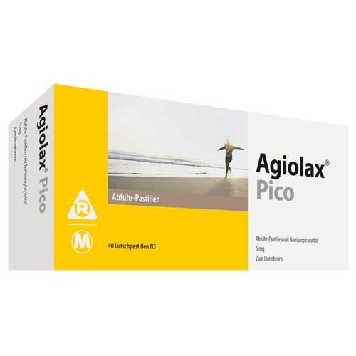 Agiolax Pico Madaus Abführ-Pastillen - 1