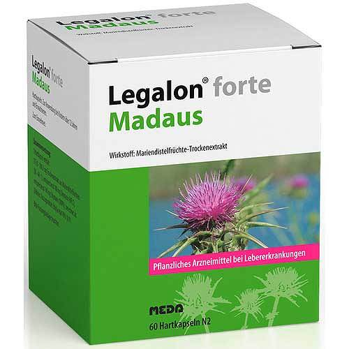 Legalon forte Madaus Hartkapseln - 1