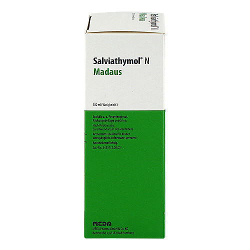 Salviathymol N Madaus Tropfen - 3