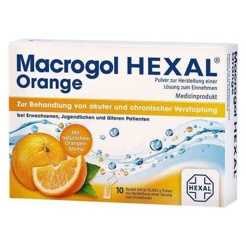 Macrogol Hexal Orange Pulver zur Herstellung einer Lösung zum Einnehmen Beutel  - 1