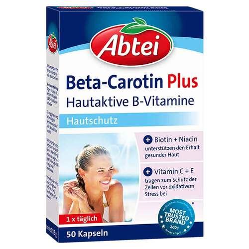Abtei Beta-Carotin Plus Hautaktive B-Vitamine Kapseln  - 1