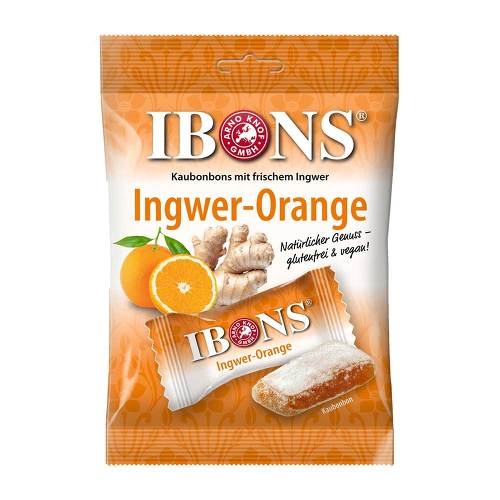 Ibons Orange Bonbons - 1