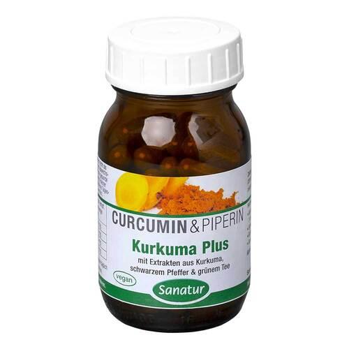 Kurkuma Plus Curcumin Kapseln - 1