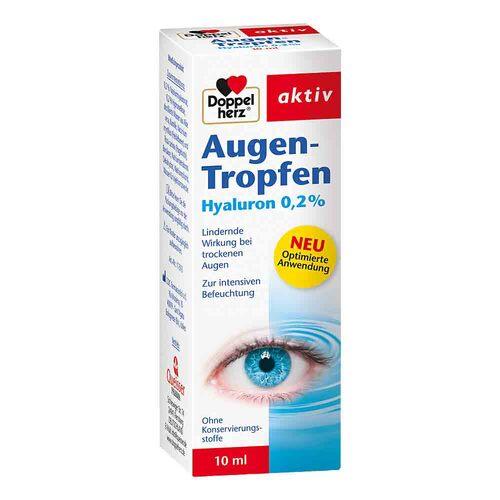 Doppelherz Augen-Tropfen Hyaluron 0,2% - 1