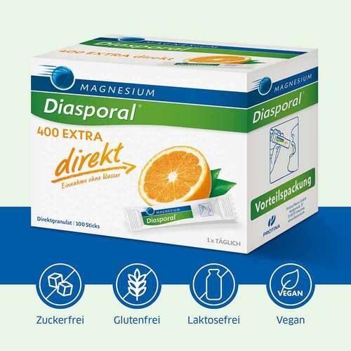 Magnesium Diasporal 400 Extra direkt Granulat - 3