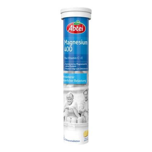 Abtei Magnesium 400 Plus Vitamin C + E Brausetabletten  - 1