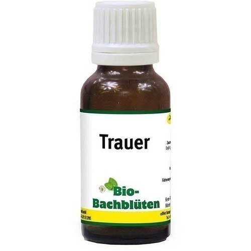 Bio Bachblüten Trauer Tropfen für Hund / Katze / Pferd - 1