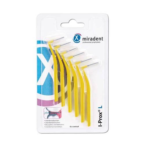 Miradent Interdentalbürste I-Prox L 0,5 mm gelb - 1