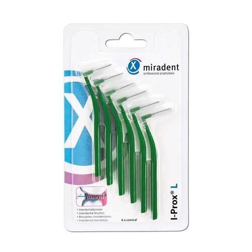 Miradent Interdentalbürste I-Prox L 0,7 mm grün - 1