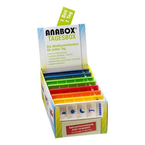 Anabox Tagesbox bunt Pikto - 1