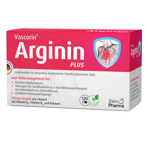 Vascorin Arginin Plus Kapseln - 1
