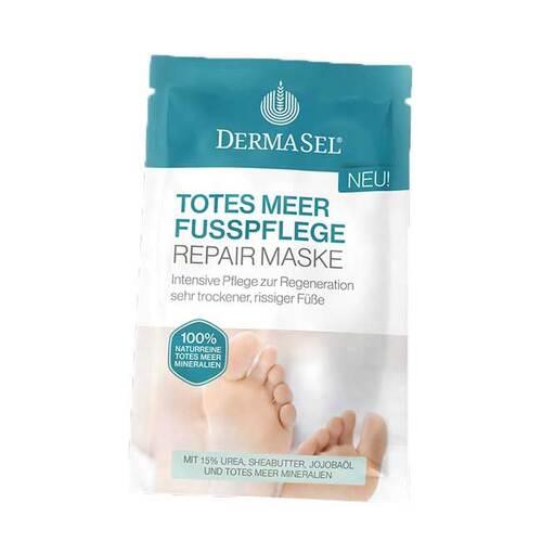 Dermasel Spa Totes Meer Fußpflege Repair Maske - 1