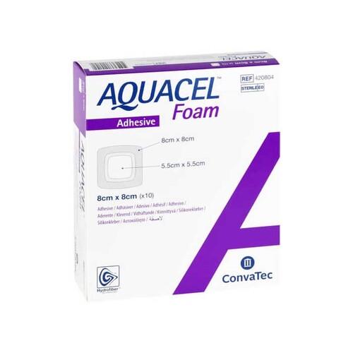 Aquacel Foam adhäsiv 8x8 cm Verband - 1