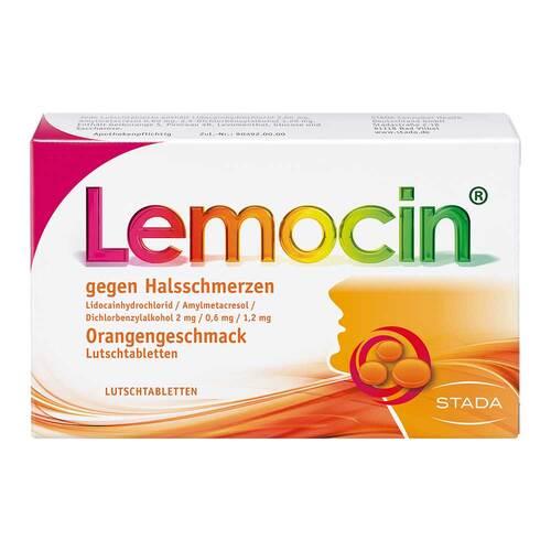 Locastad gegen Halsschmerzen Orange Lutschtabletten  - 1
