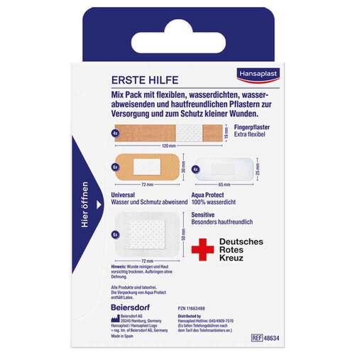 Hansaplast Erste Hilfe Pflaster Mix - 2