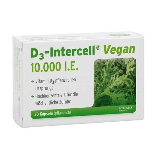 D3-Intercell Vegan 10.000 I.E. Kapseln - 1