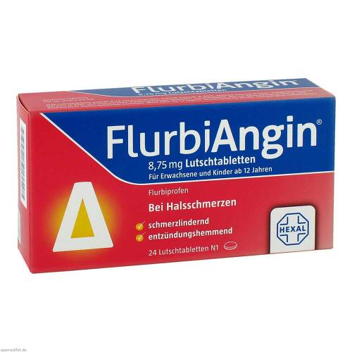 Flurbiangin 8,75 mg Lutschtabletten - 1