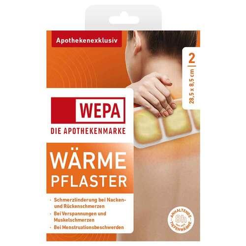 Wärmepflaster Nacken / Rücken 8,5x28,5 cm Wepa - 1