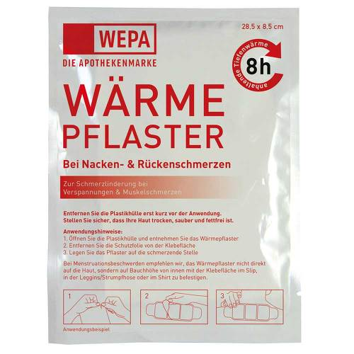 Wärmepflaster Nacken / Rücken 8,5x28,5 cm Wepa - 2