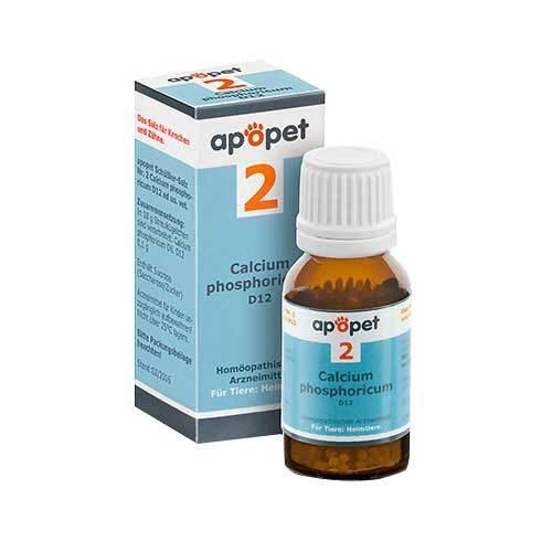 Apopet Schüßler-Salz Nr.2 Calcium phosphoricum D 12 vet. (für Tiere) - 1