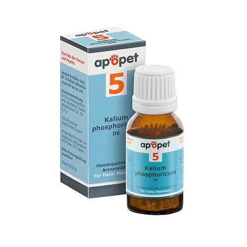 Apopet Schüßler-Salz Nr.5 Kalium phosphoricum D 6 vet. (für Tiere) - 1
