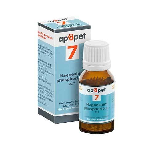 Apopet Schüßler-Salz Nr.7 Magnesium phosphoricum D 12 vet. (für Tiere) - 1