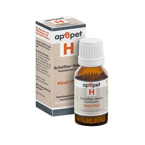 Apopet Schüßler-Salze-Kombination H ad us.vet.Gl. - 1