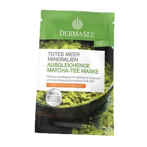 Dermasel Spa Totes Meer Ausgleichende Matcha-Tee Maske - 1