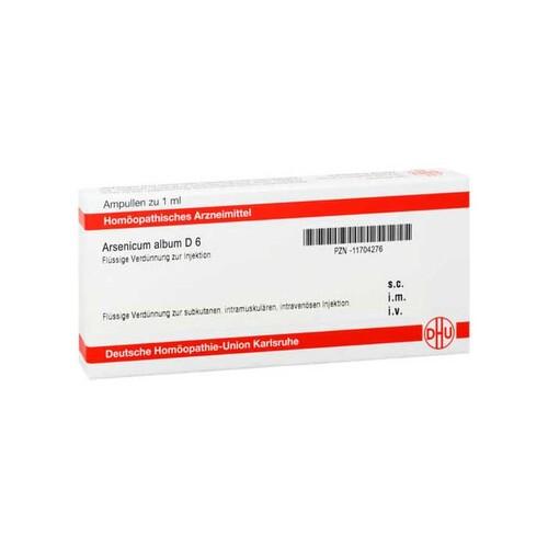DHU Arsenicum album D 6 Ampullen - 1