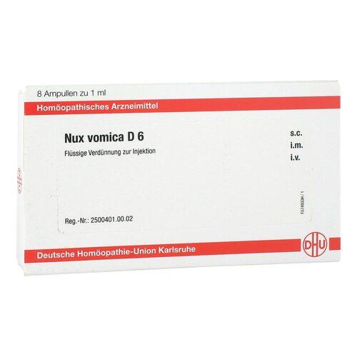 DHU Nux vomica D 6 Ampullen - 1
